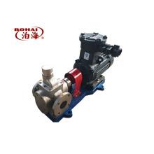 alta eficiência grande fluxo YCB10-0.6 aço inoxidável bomba de engrenagem de arco de óleo de lubrificação da China