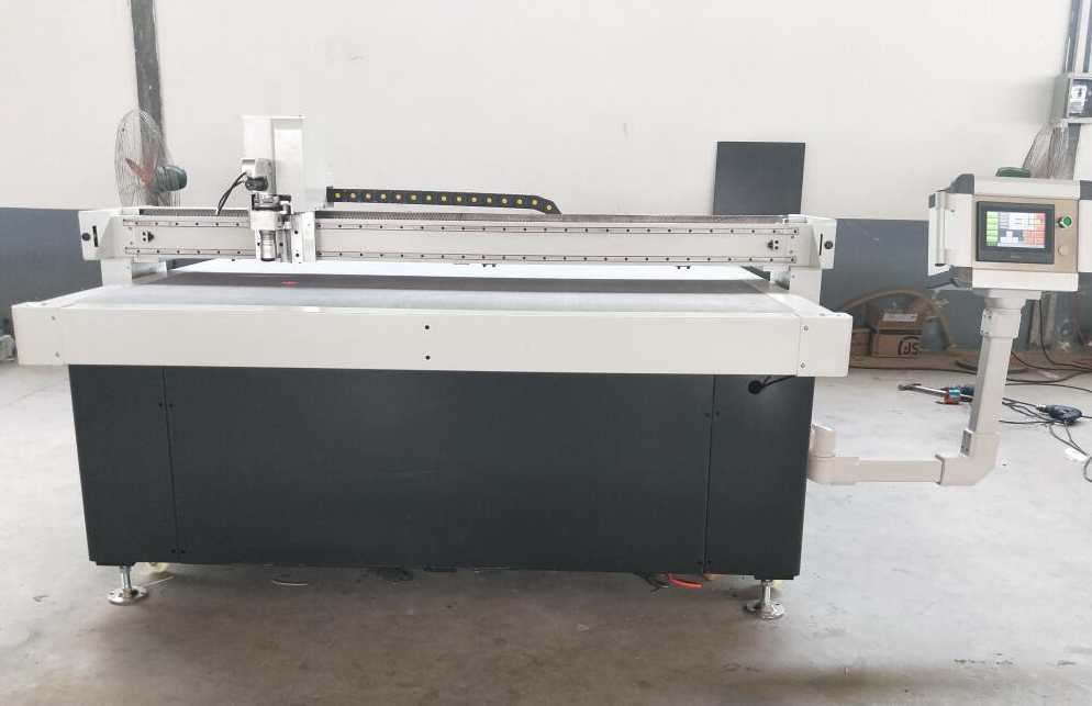 cutting machine with oscillating knife