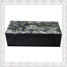 Black MOP Aufbewahrungsbox mit schwarzer Farbe Große Größe