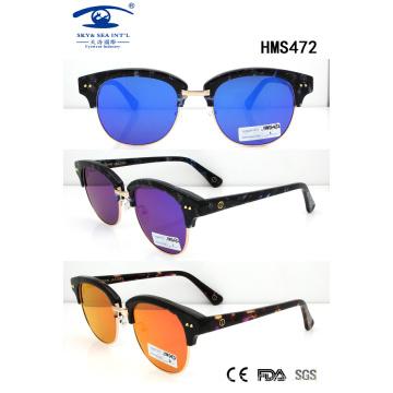 Shiny Fashion New Hot Sale Acetate Sunglasses for Wholesale (HMS472)