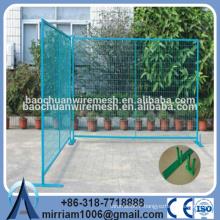 High Quality Vinyl CA Temporary Fence Factory