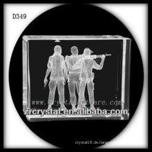 K9 3D Subsurface Shooting innerhalb von Crystal Rectangle