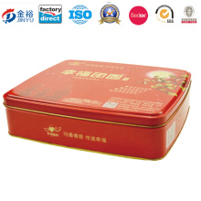Tin Box with Lid for Packaging Short Bread Jy-Wd-2015120706