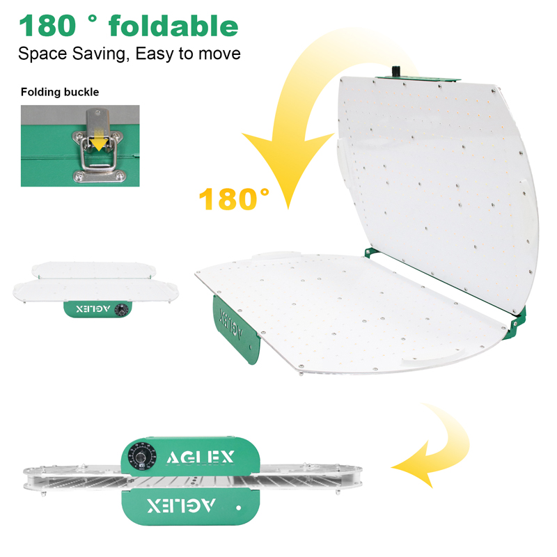foldable led grow light qb