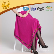 2015 New Style Top Quality Cashmere Feeling Natural Material Silk Woven Best Blanket