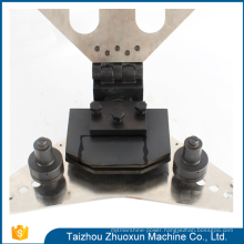 Perfect Hydraulic Tools Cnc V Cutting Busbar Turret Price Muti-Function Bus Bar Machine