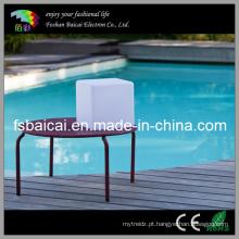 Iluminado Decorativo Club Bar Café LED Cube Chair Bcr-110c