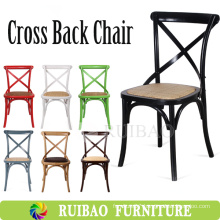 2016 Simple Design Manufactory Wholesale Crossback Chair Wooden Chair Designs