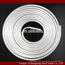 1060 tubo de alumínio de bobina de panqueca de ar condicionado