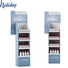 Étagère populaire de support d'affichage de parfum de carton, présentoir de haute qualité de nouveau parfum de conception