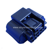 Plastic injection mold for electronic connector