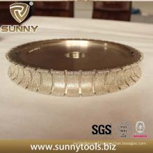 Vacuum Brazed Diamond Profile Wheels for Stone (SY-BDPW-1000)