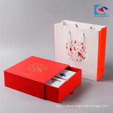 New design custom moon cake gift coated paper packaging cardboard