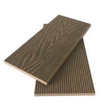 Solid Wood Plastic Composite Fence Board WPC Fence Panel 146*11mm XFW021