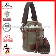 El bolso militar del ejército Canvas Mini bolso de hombro con estilo