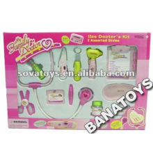Juego de plástico de juego de médico para niños