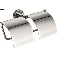 Messing doppelte Badezimmer Papierhalter