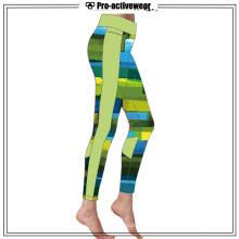 Sublimated Gym Wear Running Exercício Yoga Calças
