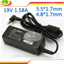 mini adapter for asus 19v 1.58a laptop power adapter charger