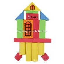 39pcs wholesale plastic assembled building block