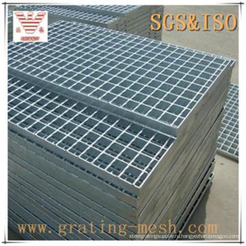 Обычный стандартный закрытый стержень / решетка из оцинкованной стали