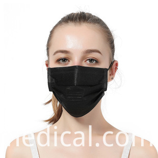 Simple black high quality mask