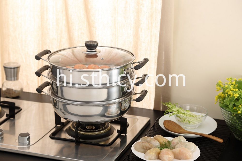 3 Tier Cooking Pots