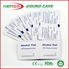 HENSO Esterilizado 70% Isopropyl descartable Alcohol Swab