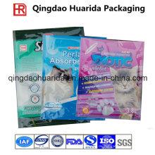 Flache Plastiktasche für Katzen-Sänfte-Verpackung, Katzen-Sänfte-Tasche