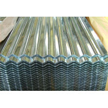 Construction Building Raw Material, Color Zinc Corrugated Metal Roofing Sheet