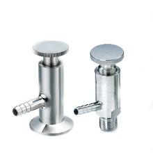 Sanitary Fittings Válvula de amostra sanitária de aço inoxidável