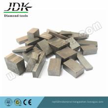 Sharpness Long Lifespan Diamond Segment for Stone Processing