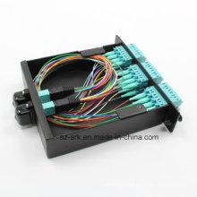 Кабель с волоконно-оптическим разъемом MPO (24-разрядный)