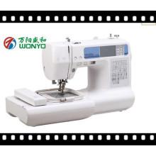 Wonyo 2016 nova máquina de bordar computadorizada bordados domésticos & máquina de costura