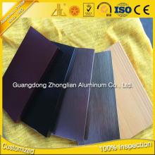 6063 T5 Ajuste de azulejo de aluminio con accesorios de suelo