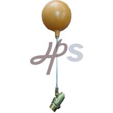 Robinet à tournant sphérique flottant en laiton avec boule en plastique