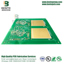 "IT180 Prototype PCB 2 Layers PCB ENIG 3u"" BentePCB"