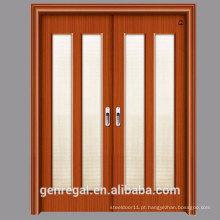 BARATO HDF melamina HDF slide porta de madeira
