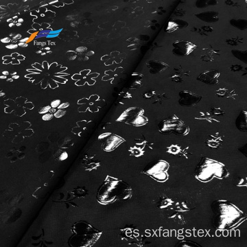 100% poliéster Nida Furshan Marvijet Satin Foil Fabric