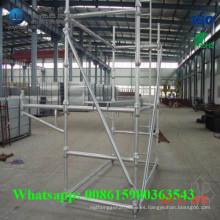 Andamio Steellock Ringlock del sistema de acero nuevo y usado