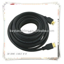 Black HDMI Cable male to male for 1080p PS3 HDTV