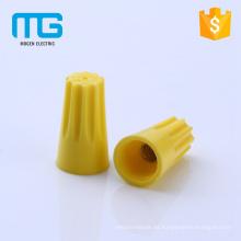 Venta caliente de tornillo de PVC en tapas de conectores de alambre