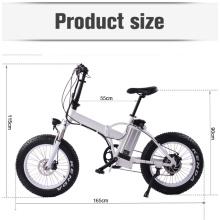MOTORLIFE / OEM neues Modell 20 '' * 4 Fett Reifen Falten E-Bike, elektrisch betriebene Pedel Zyklen 27 Geschwindigkeit