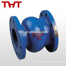 Energy conservation spring alarm noise elimination silent valve check