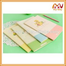 Caixa de papelaria criativa coreana notebook adorável, cadernos de papelaria baratos