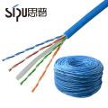 SIPU mejor precio de alta calidad de cobre UTP FTP SFTP ethernet cat5e cat6 red de datos lan cable de red