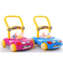 Brinquedos musicais do caminhante do bebê primeiros passos velocidade ajustável