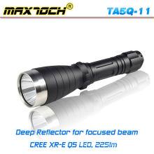 Maxtoch TA5Q-11 18650 Reflector profundo de largo alcance Q5 linterna