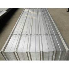 Telhado ondulado galvanizado de 1025mm do metal (preços competitivos)