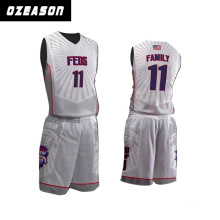 Custom Latest Design Sublimation Basketball Suit / Basketball Jersey